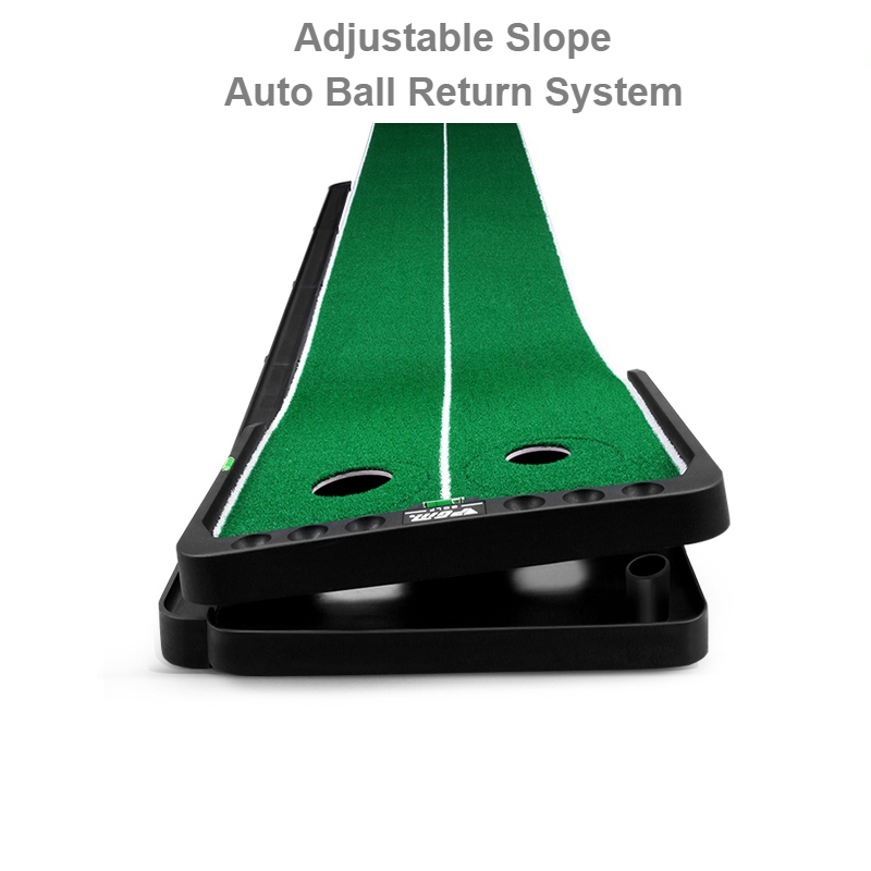 Slope Adjustable Golf Precision Putting Green With Auto